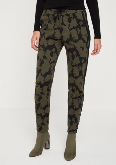 Lässige Loungepants mit Camouflagemuster
