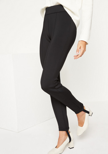 Business trousers with bands from comma