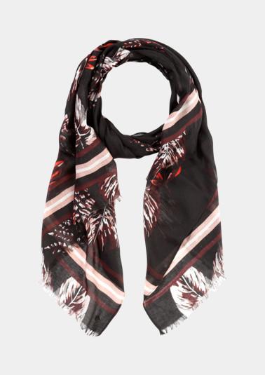Zarter Schal mit Floralmuster