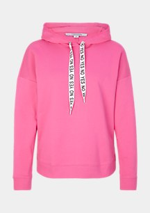 Soft hooded sweatshirt from comma