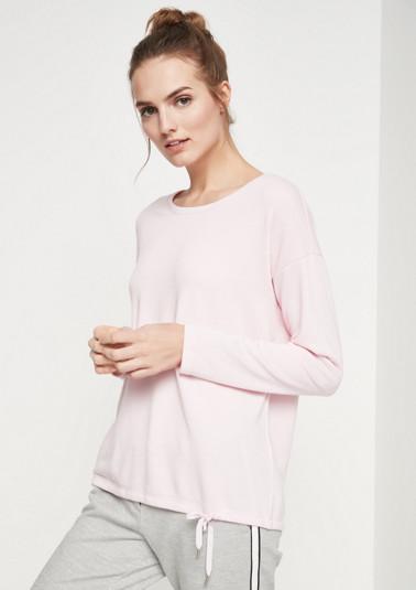 Lightweight sweatshirt with ties from comma