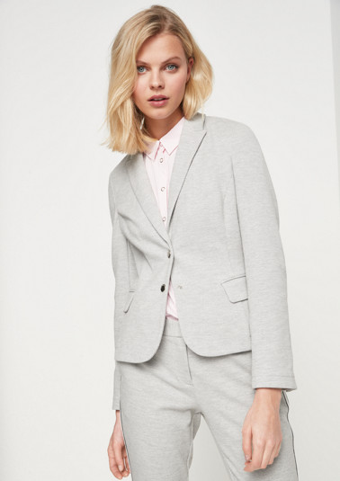 Blazer with exciting details from comma