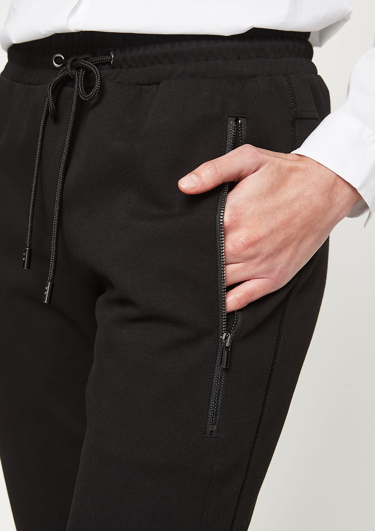 Casual lounge trousers with excitingly details from comma
