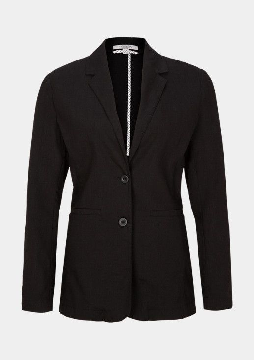 Lightweight casual blazer with sophisticated details from comma