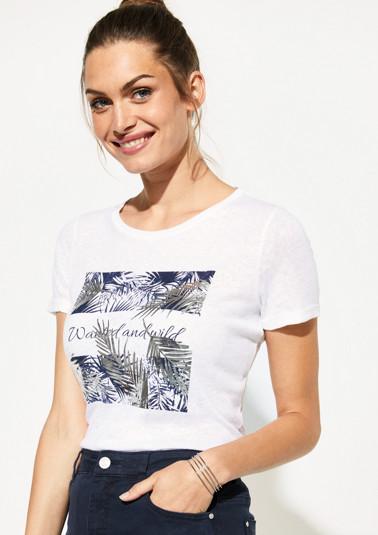 Shirt mit dekorativem Frontprint