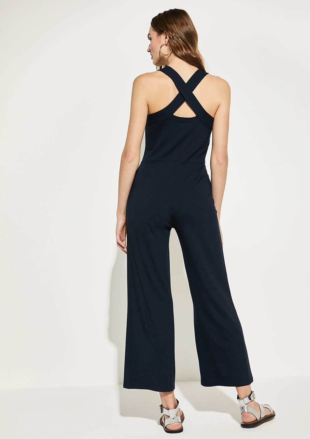 Jersey jumpsuit with exciting details from comma