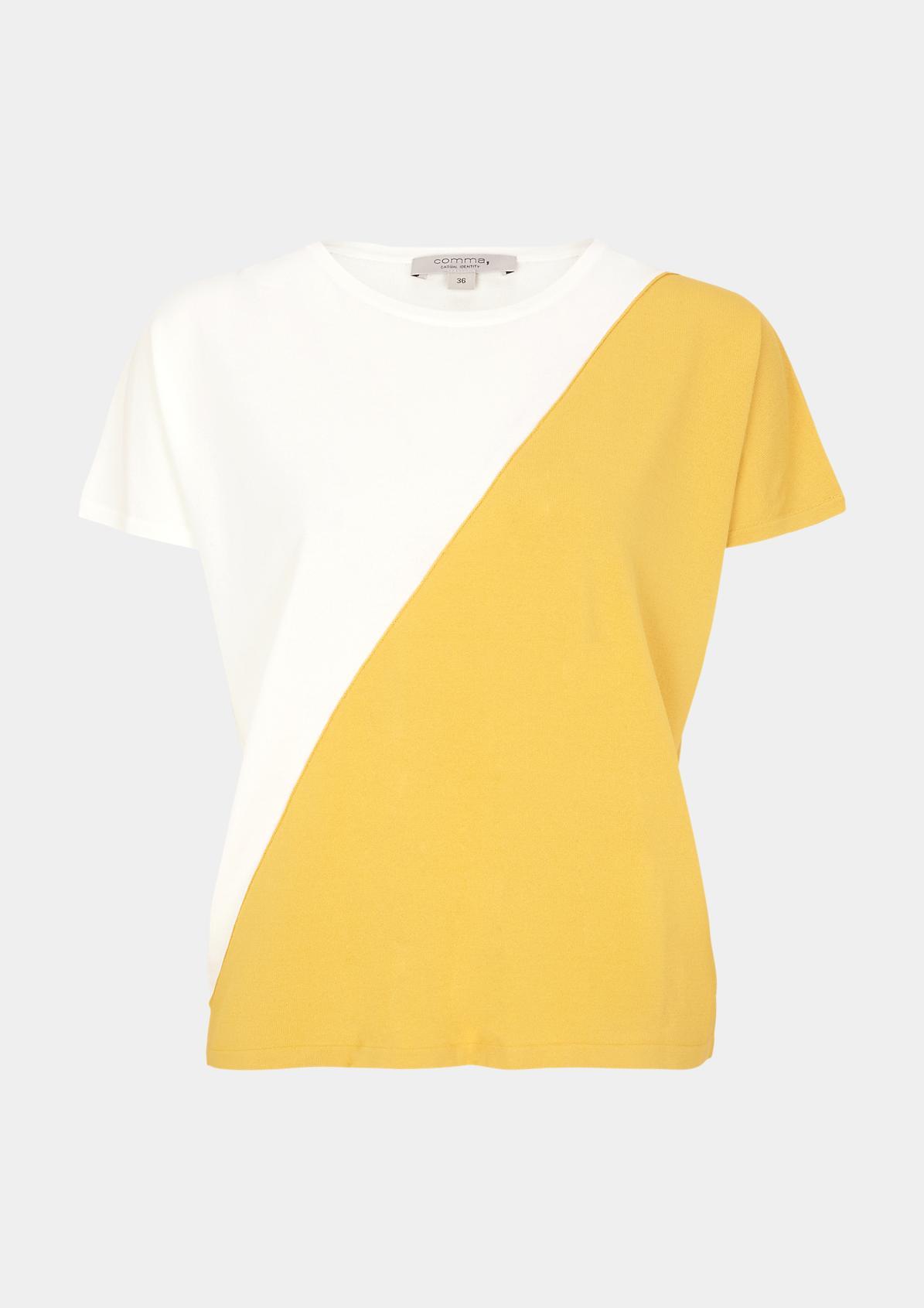 Shirt im raffinierten Two Tone-Look