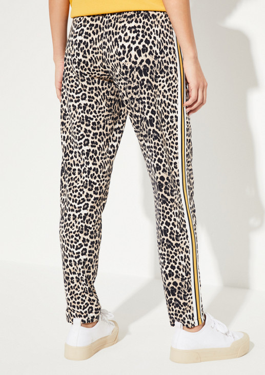 Loungepants im glamourösen Leopardenlook