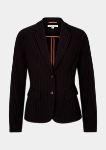 Business blazer with elegant pinstripes from comma
