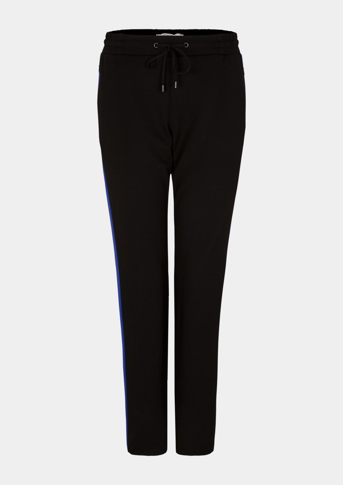 Loungepants mit zweifarbigen Seitenstreifen