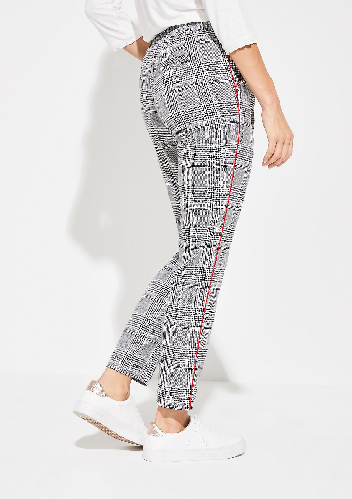 Loungepants mit Glencheckmuster