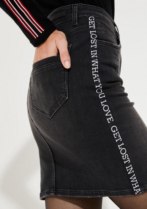 quality design 20c7f 385db Denim skirt