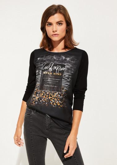T-shirt à manches longues de Comma