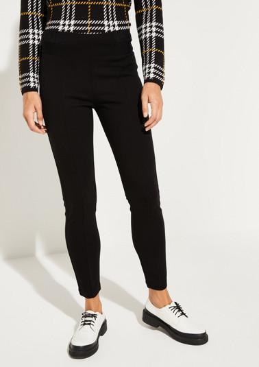 Pantalon extravagant à inscription au niveau de la taille de Comma