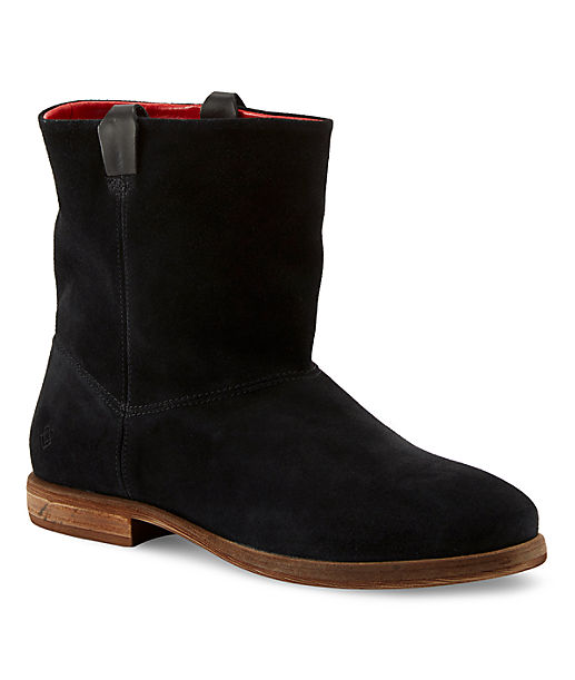 Short leather boots LS0124 from liebeskind