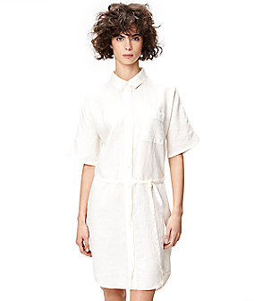 Linen shirt dress S1164108 from liebeskind