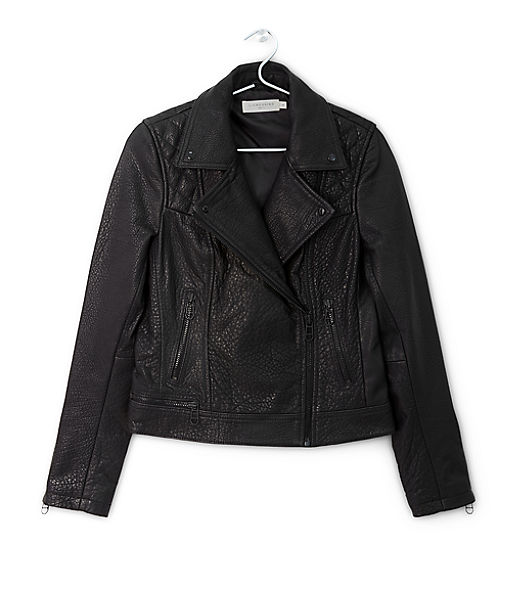Leather jacket H1167100 from liebeskind
