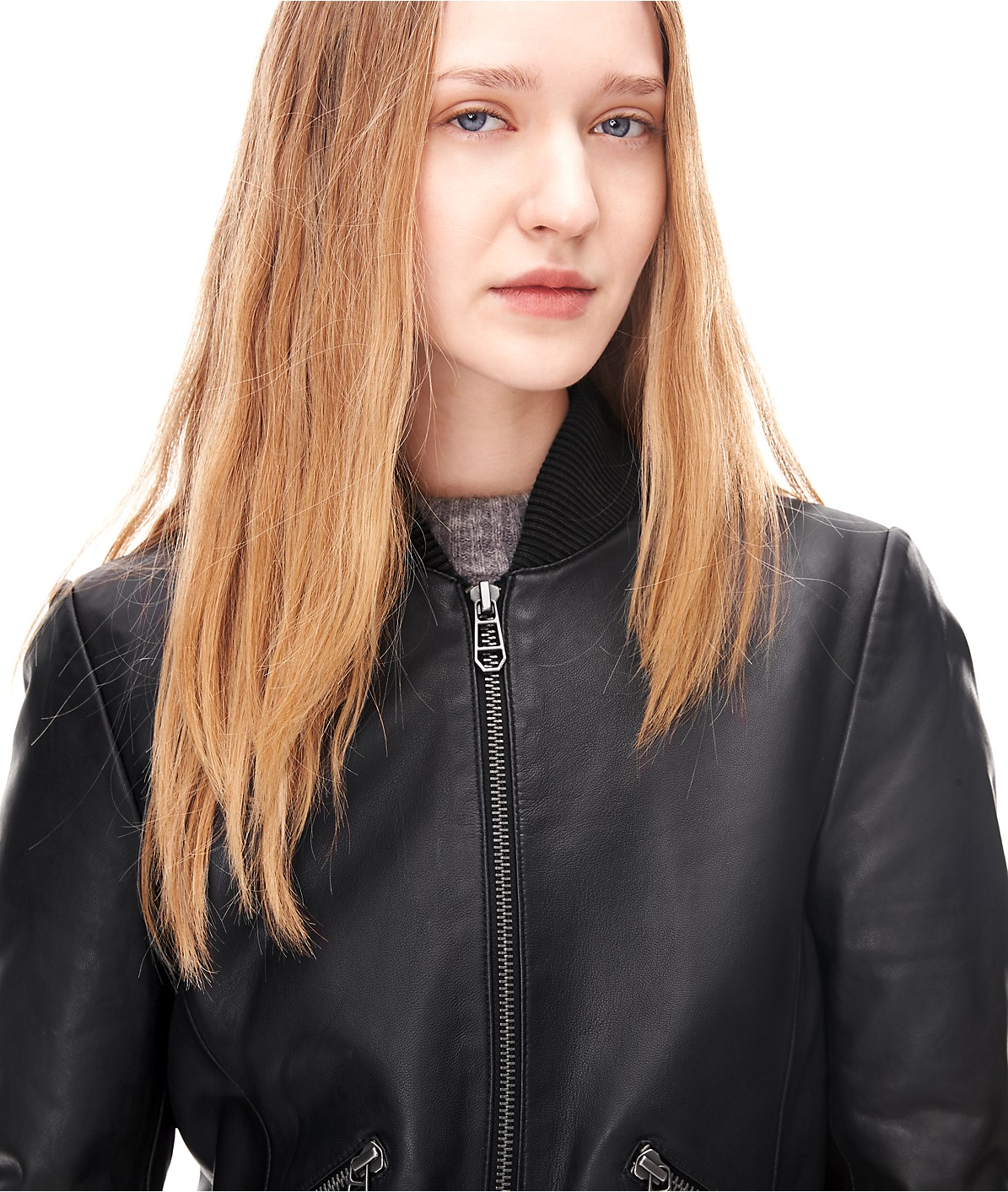 Leather jacket H1167400 from liebeskind