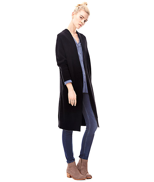 Knitted coat H1165100 from liebeskind