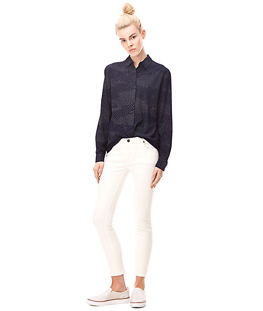 Viscose blouse H2162701 from liebeskind