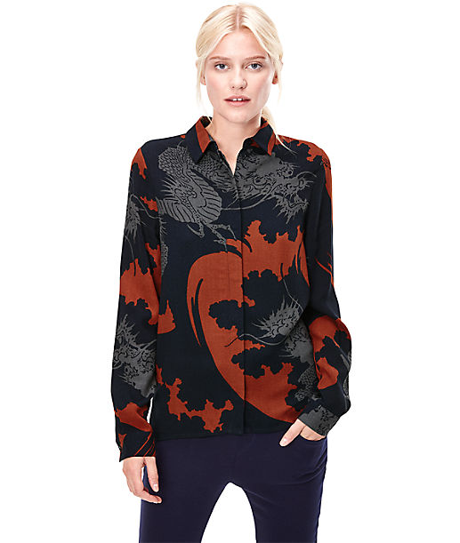 Blouse W1164300 from liebeskind