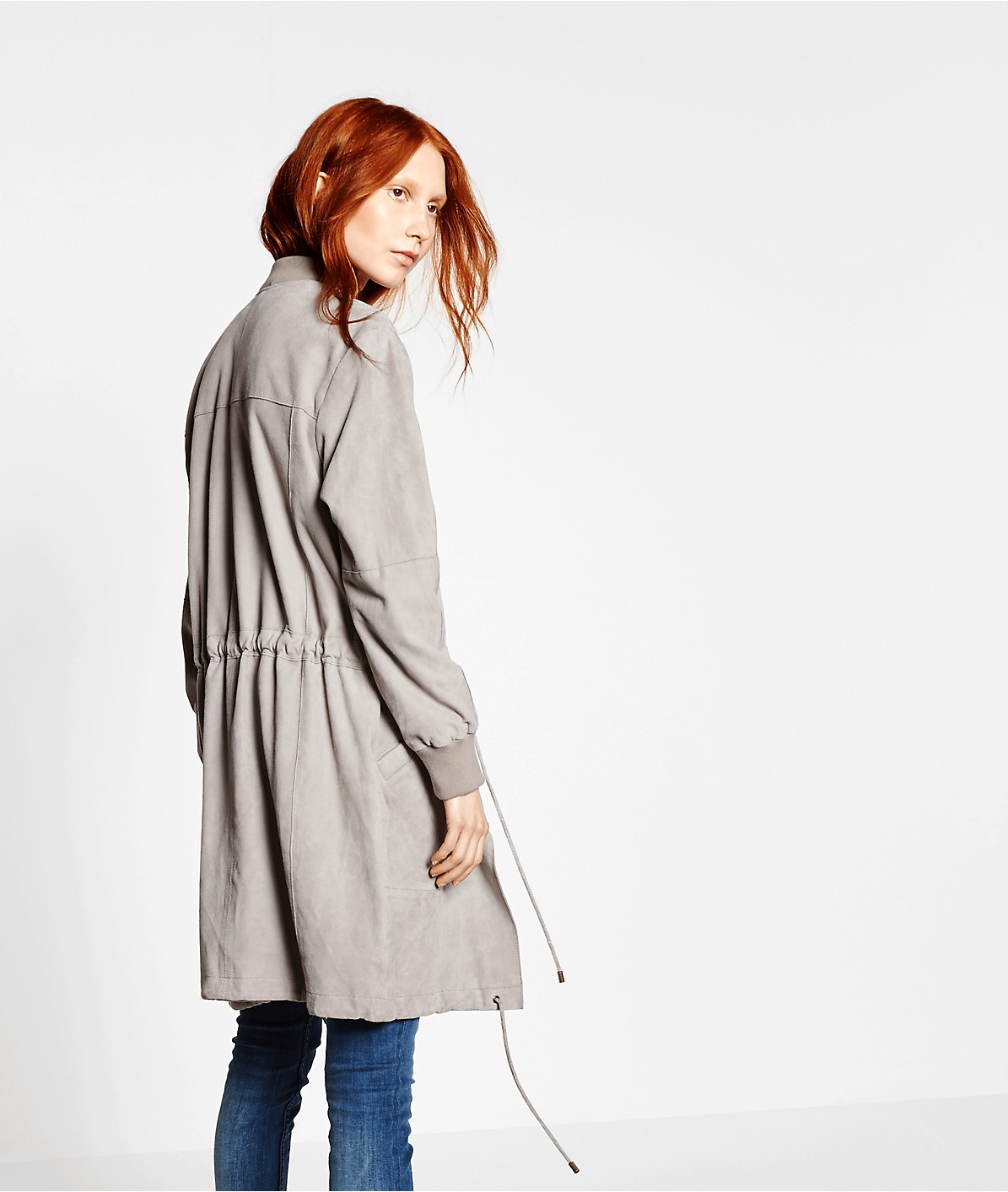 Leather coat F2175500 from liebeskind