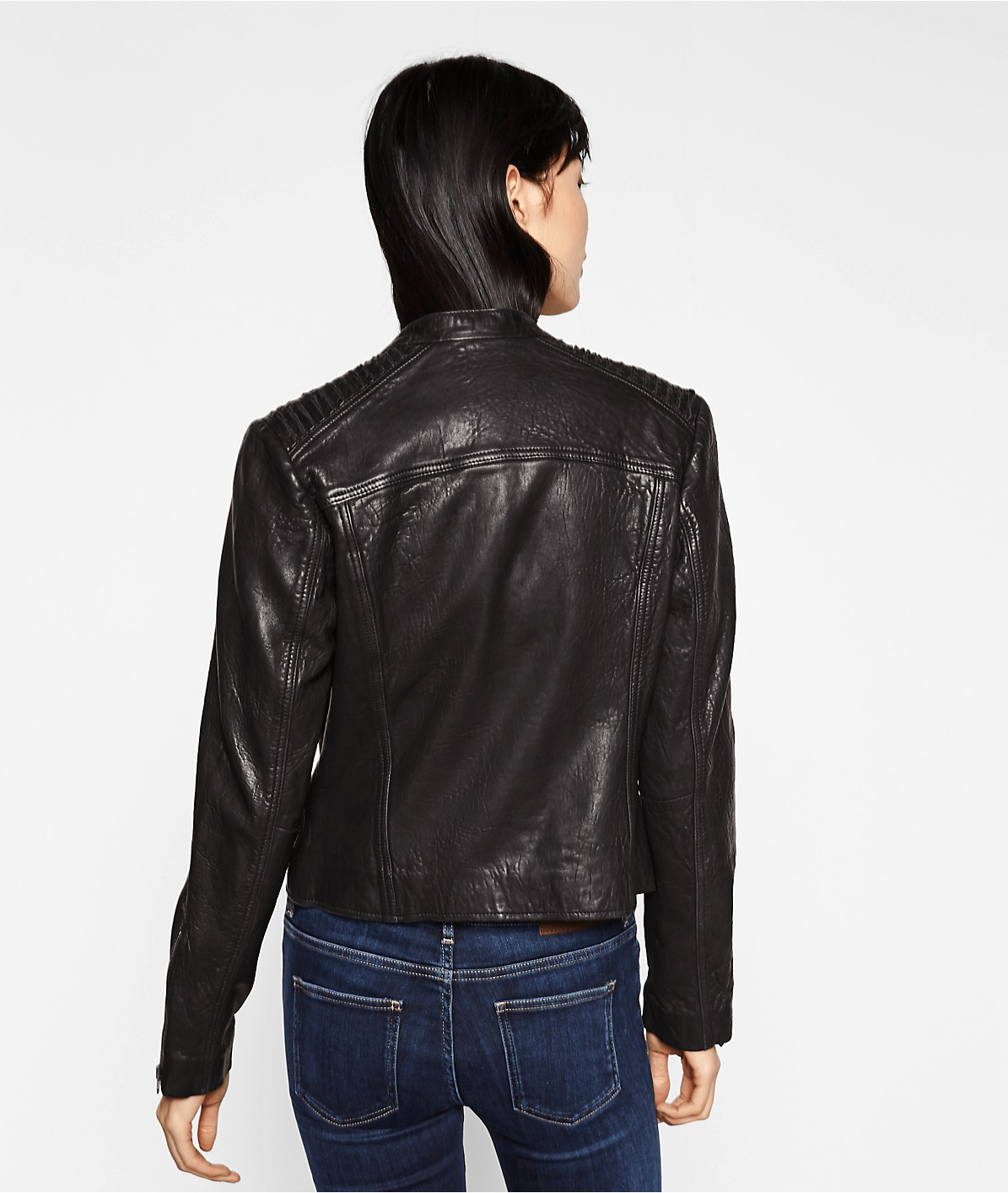 Leather jacket F1175003 from liebeskind