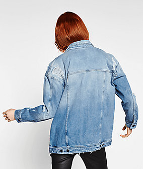 Denim jacket F2176070 from liebeskind