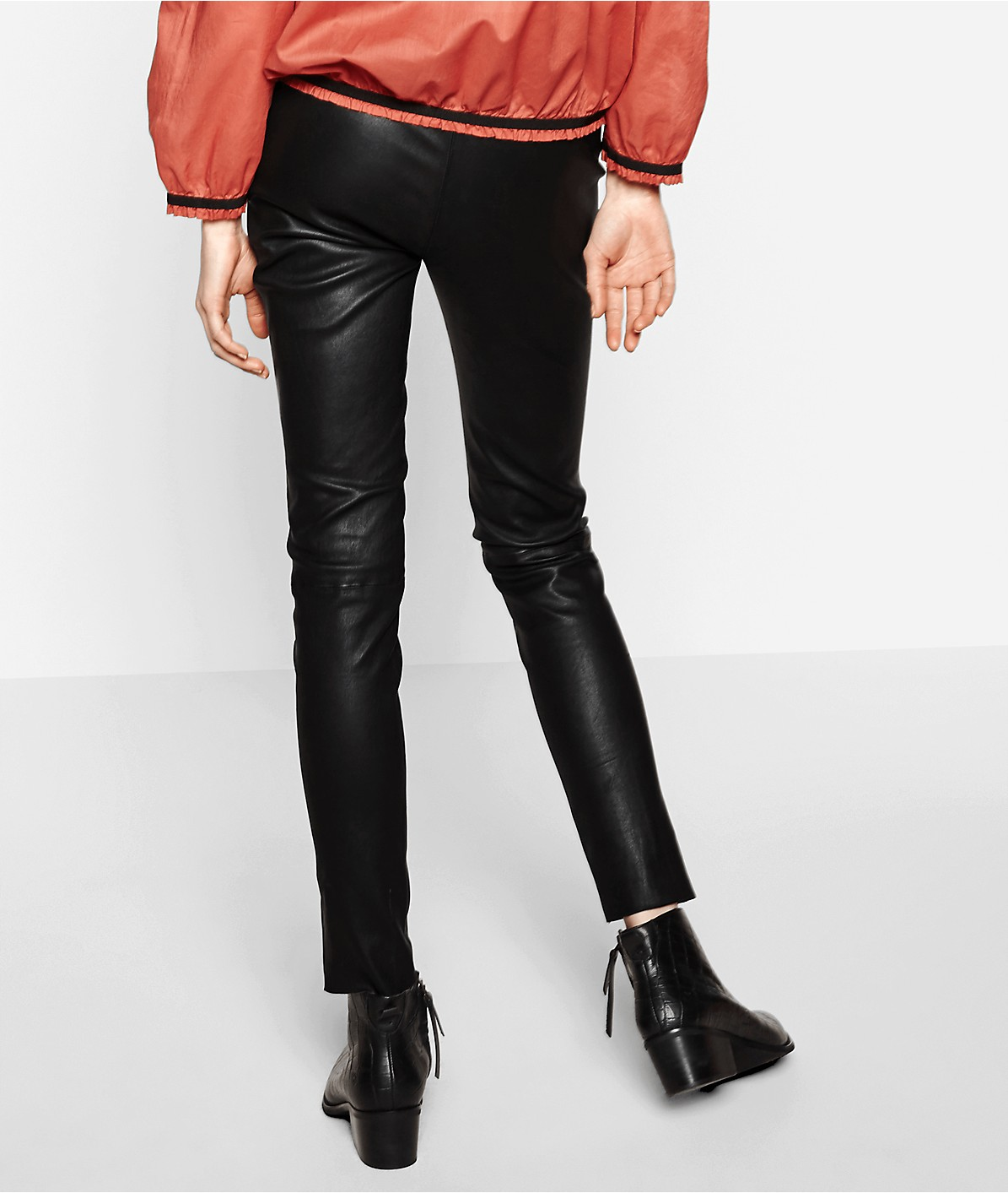 Leather leggings F2175400 from liebeskind
