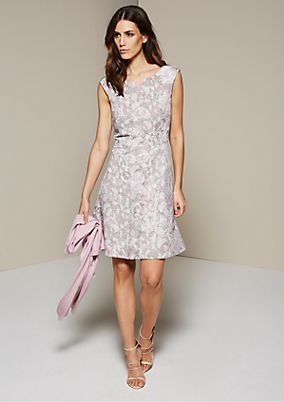Fine casual dress with a sensational pattern from s.Oliver