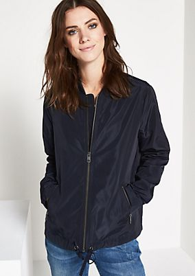 Sporty bomber jacket with sophisticated details from comma