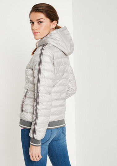 Lightweight summer down jacket with a hood from comma