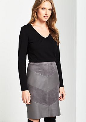 Lightweight jersey long sleeve top with decorative pleats from s.Oliver