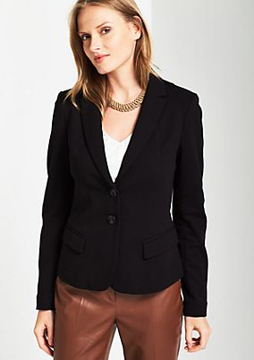 Business blazer with fine details from comma