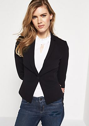 Elegant business blazer with decorative details from comma