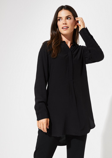 Long blouse with sophisticated details from comma