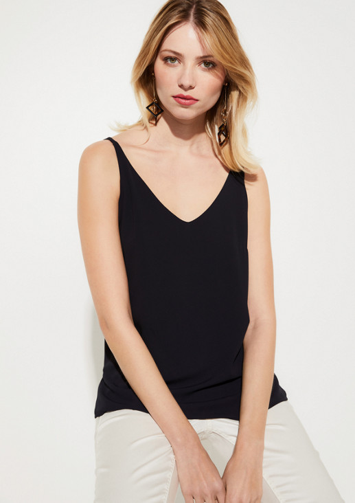 Delicate top with narrow straps from comma