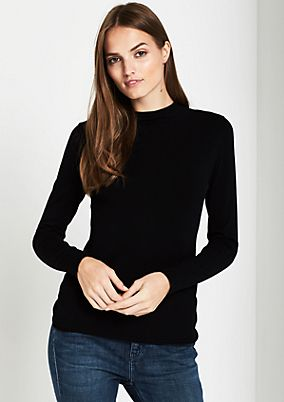 Knitted jumper with great details from comma