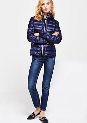 Lightweight down jacket with a quilted pattern from s.Oliver