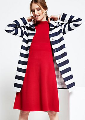 Beautiful spring coat with a classic striped pattern from s.Oliver