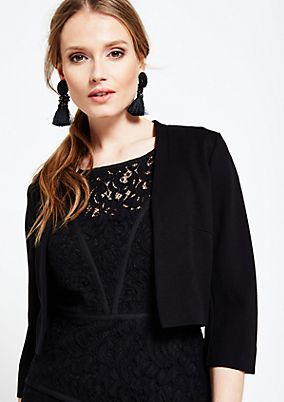 Fine business blazer with 3/4-length sleeves from s.Oliver