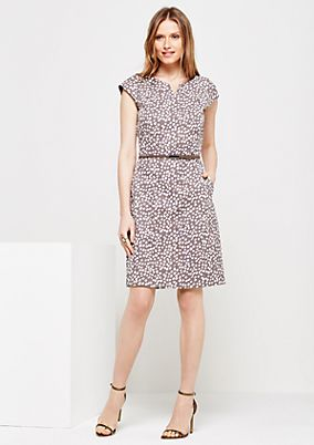 Lovely sheath dress with a beautiful all-over print from s.Oliver