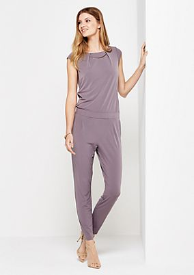 Elegant jumpsuit with decorative trim from comma