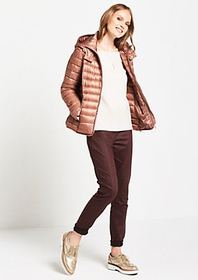 Lightweight quilted jacket with a hood from s.Oliver