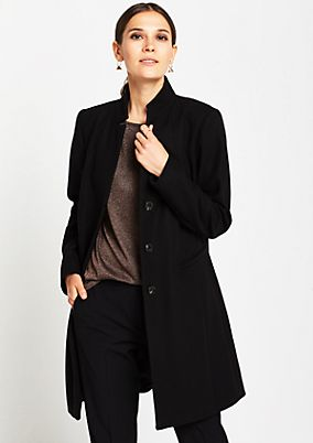Elegant winter coat with decorative details from comma