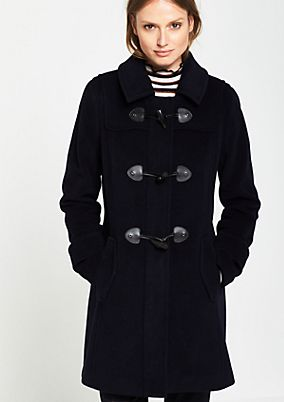 Classic duffle coat with a hood from s.Oliver