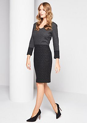 Fine evening dress with 3/4-length sleeves from comma