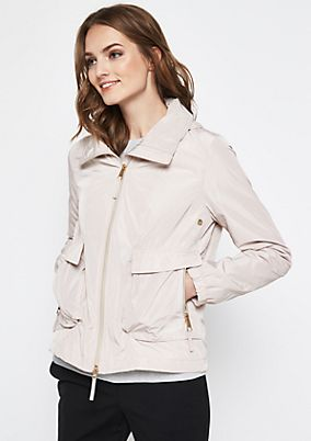 Lightweight jacket with a hood from comma