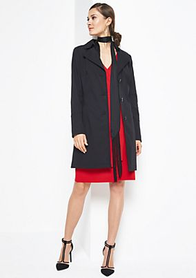 Classic trench coat with a belt element from comma