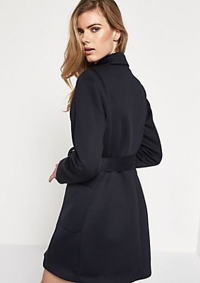 Warm coat with smart details from comma